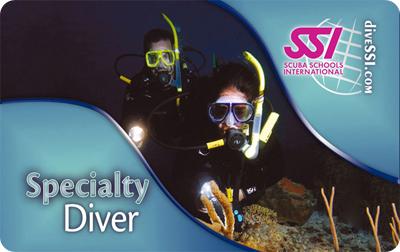 Пробное погружение с аквалангом SSI Try Scuba Diving
