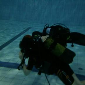 Пробное погружение с аквалангом