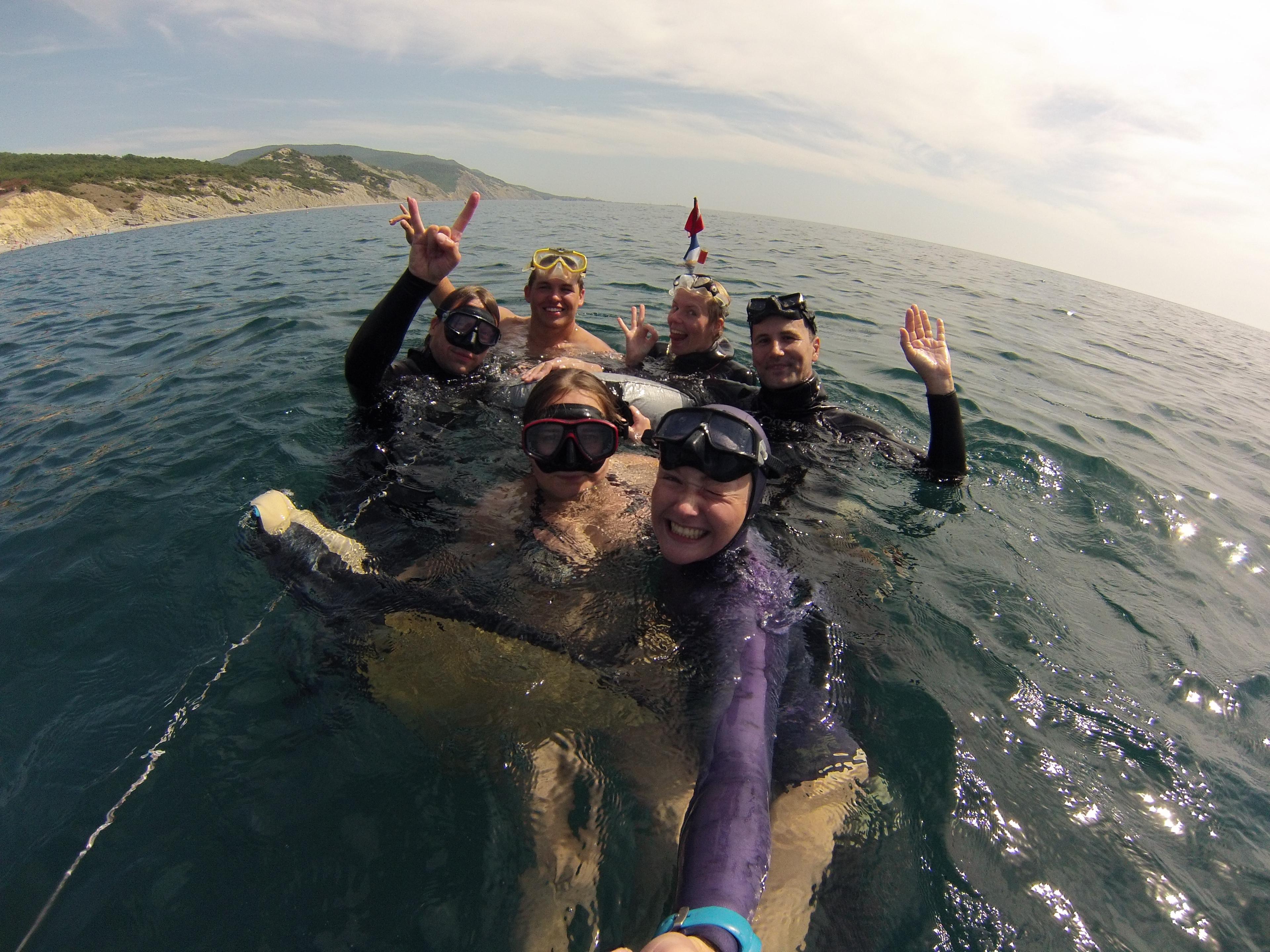 Марианна Крупницкая фридайвинг черное море