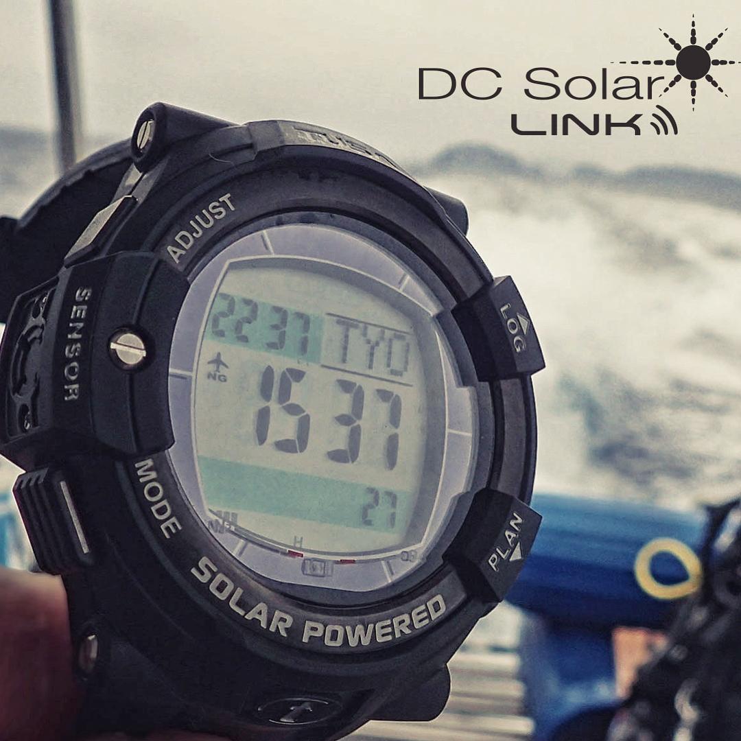 компьютер для дайвинга солнечная батарея TUSA DC SOLAR LINK 1204