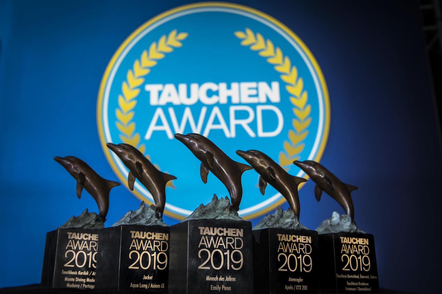 Лучшее снаряжение для дайвинга 2019 премия tauchen award