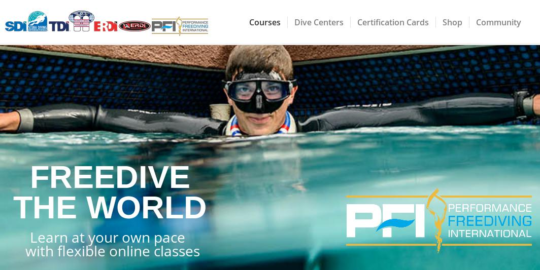фридайвинг pfi performance freediving international
