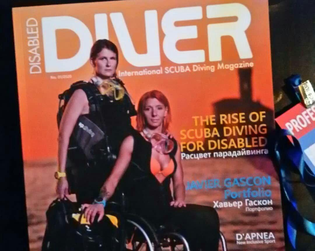 журнал Disabled Diver