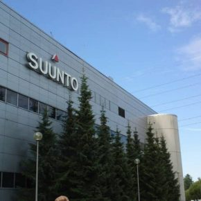 Завод SUUNTO в финляндии